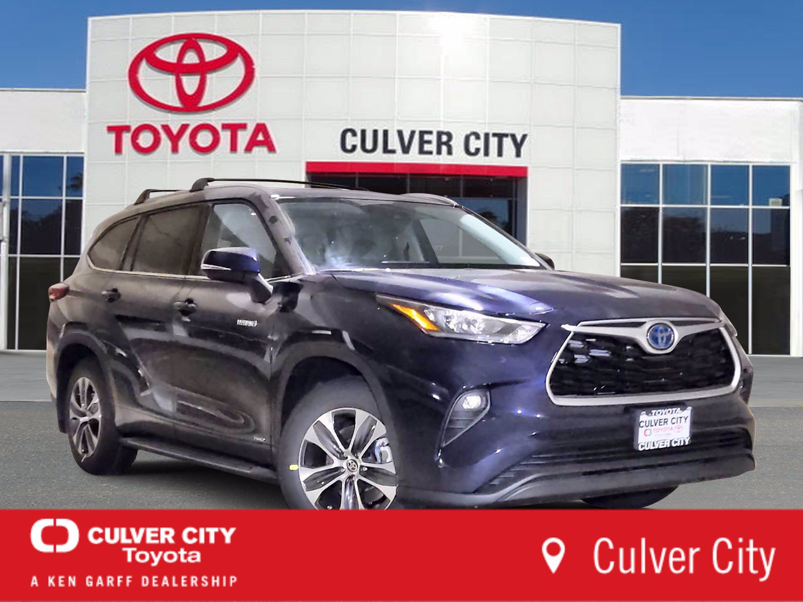 New 2020 Toyota Highlander Hybrid Xle 4 In Culver City 25530 Culver City Toyota