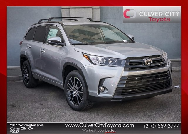 new 2017 toyota highlander se 4d sport utility in culver city 17447 culver city toyota. Black Bedroom Furniture Sets. Home Design Ideas