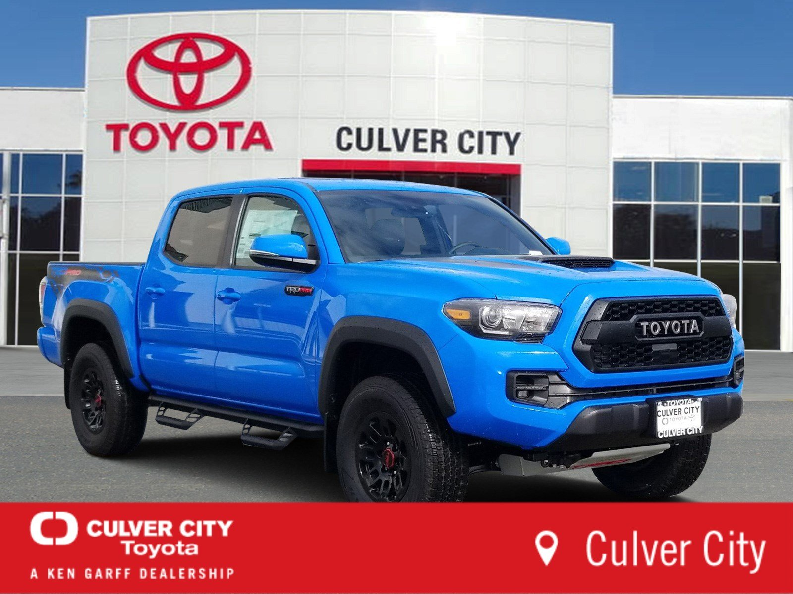 New Toyota Tacoma >> New 2019 Toyota Tacoma 4wd Trd Pro Crewmax In Culver City 20755