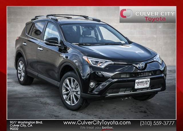 new 2018 toyota rav4 hybrid limited 4d sport utility in culver city 17579 culver city toyota. Black Bedroom Furniture Sets. Home Design Ideas